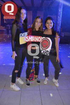 Sofía Quezada, Angela Oropeza y Daniela González