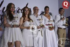 Aura Cristina Giethner, Marbella Valencia, Cecilia González y el Lic. Juan Aguilera