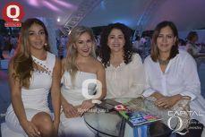 Gabriela Cervantes, Rosy Muñoz, Laura de Abdo y Lorena Calvillo