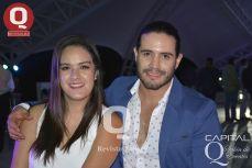 Nancy Gama y Rafael Elizarrarás