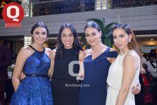 Alejandra Ledesma, Samantha Hernández, Beatriz Aguirre y Verónica Cerda