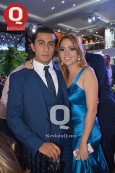 Alejandro Rocha y Estefanía Ruiz