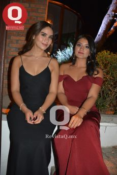 Anapau Martínez y Daniela Escalante