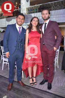 Héctor Aguirre, Mariana González y Andrés Muñoz