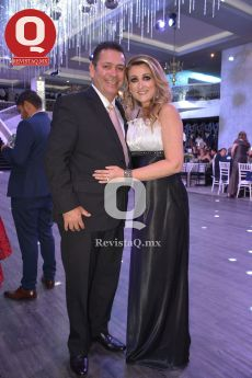 Juan Carlos Medina y Mónica Muñoz