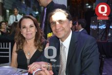 Magdalena Rodríguez y Gustavo de León