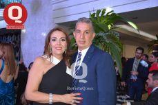 Patricia Lozornio y Gilberto Márquez
