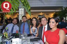 Ricardo Graciano, Daniel Martínez, Lizeth Méndez, Omar Cadena y Magy Ávila