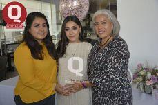 Carol Márquez, Farah Márquez y Hortencia Márquez