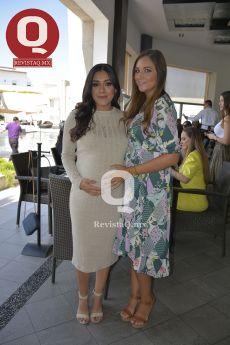 La festejada, Farah Márquez y Pamela Camarena