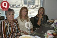 Lula Ortega, Paty Pérez y Maruka Navarro