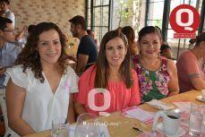 Danna García, Sandra Orso y Ofelia Soriano
