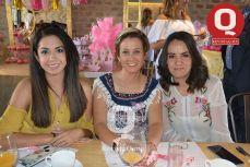 Gema Jiménez, Sandra Malpica y Emma González