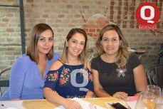 Rosy Gutiérrez, Berenice Orozco y Mayra Guerrero