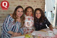 Susan Pedroza, Claudia Hernández y Lili Sánchez