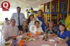 Daniel Navarro, Fernanda Navarro, Sergio Navarro, Maruca de Haro y Silvia Navarro