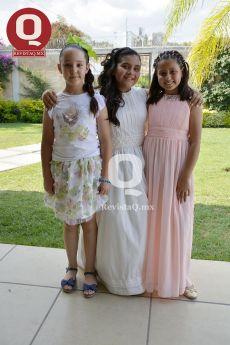 Giulia Busto, Fernanda Navarro y Julieta Ayala