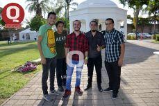 Antonio Hernández, Hassan Ramos, Isaías Acosta, Cristian Negrete y Saúl Noriega