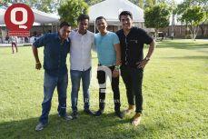 Carlos Hernández, Adrian Ruiz, Martín Méndez y Moy Galván