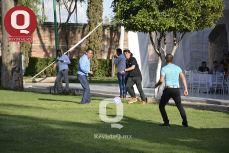 Los colaboradores de Muñoz y Asociados jugaron futbol