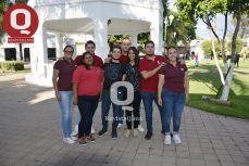 Maricarmen Acosta, Sanjuana Preciado, Ale Parra, Christopher Rodríguez, Erika Ojeda y Francisco Hernández