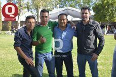 Pedro Martínez, Fernando Valdez, Ranferi Fierros y Karim Pérez