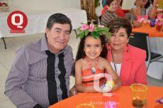 Jorge Castro, Valentina Orozco y Martha Sánchez