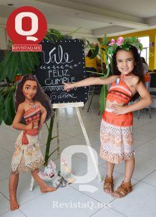 Valentina Orozco Castro cumplio 6 años de edad