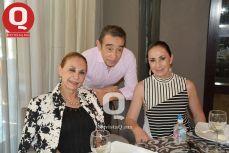 El cumpleañero, Gerardo Zúñiga, La Cuata Domínguez y Araceli Domínguez