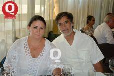 Pili García e Iván Villalobos