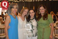 Ana María Hernández, Marce Martín Bárbara Oñate y Elizabeth Aldana