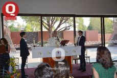 Atmósfera de la ceremonia eucarística