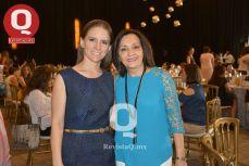 Berenice Díaz junto a Carolina Tello