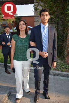 Georgina Castillo con José Antonio Álvarez