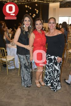 Karla Arenas, Vero Cárdenas y Araceli Ramírez