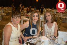 Rosy de Navarro, Edda Martínez y Marce Martín