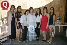 Georgina Rivas, Ana Costhelo, Alina Padilla, Regina Gómez, Yolanda Vázquez y Leticia Vázquez