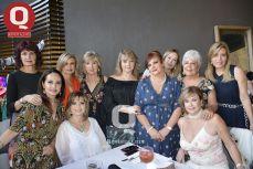 Isabel González Muñoz, Ivonne Hernández, Lula Padilla, Alicia Salazar, Patricia Padilla y Tere Loza