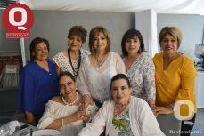 Lula Montes, Sol Mendoza, Rosa Laura Vázquez, Patricia Kornhauser, Lupita Rangel, Vero Domínguez y Marsh Villicaña