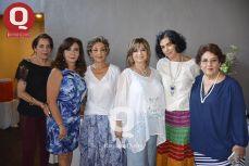 Susana Navarro, Martha Luz Martínez, Ana Esthela Vázquez, Rosa Laura Vázquez, Blanca Loya y Carmela Jiménez