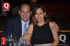 Óscar Ramírez y Lorena Calvillo