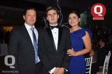 Juan de Dios Ortiz, Santiago Ortiz y Cynthia Ortiz