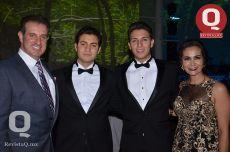 Guillermo Márquez, Arturo Fernández, Guillermo Márquez y Mara Castillo