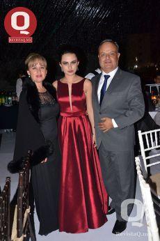Isabel Díaz Infante, Fátima Fuentes y Eduardo Fuentes