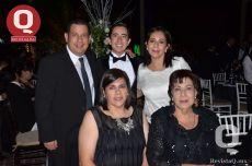 Juan Abascal, Juan Abascal, Rocío Moreno, Alejandra Moreno y Rocío Moreno