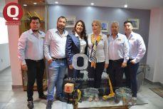 Jorge Valencia, Enrique Valencia, C.P. Viridiana González, Nilda Rosales, Ing. Enrique Valencia y Miguel Valencia