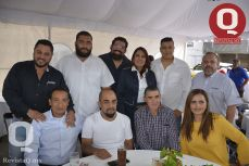 Salvador Núñez, Irvin Aviña, Ricardo Silva, Viridiana González, Alfonso García, Óscar Piñón, Luis Velázquez, Jesús Quintero, Felipe Alvizo y Alicia Muñoz