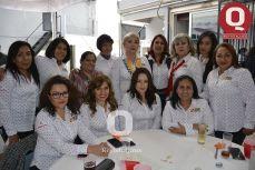 Saraí, Martha, Valeria, Letty, Lizbeth, Blanca, Lulú, Rosa, Alicia, Viridiana, María, Nilda e Irma