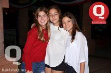 A  Alba Julia Gama, Sofía Ramírez y Laura Paulina Hurtado