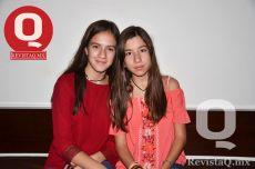Camila Arroyo y Galia Padilla